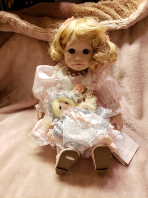 Doll for sale from estate sale Billings Montana